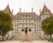 New York statehouse in Albany